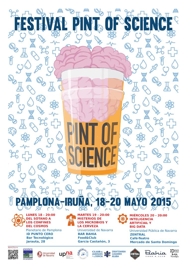 Pint of Science, 18, 19 y 20 mayo 2015