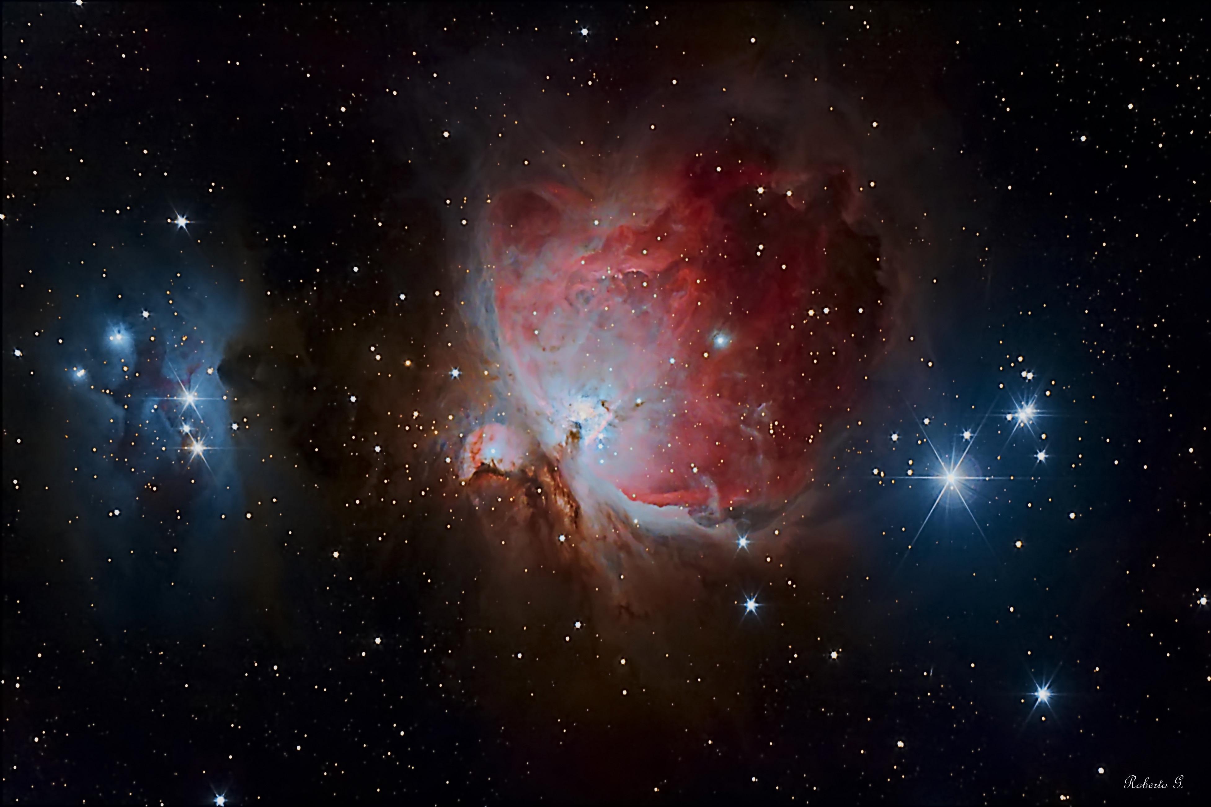 m42 imagen del mes astronavarra